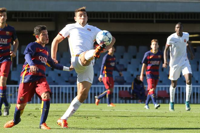 immagine Youth League, Barcellona-Roma 3-3 (Foto Mancini)